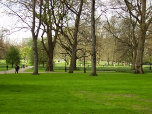 View of Green Park