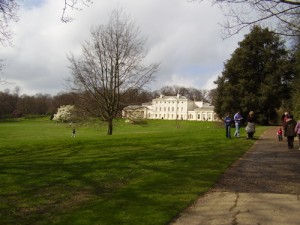 Kenwood House in the distance
