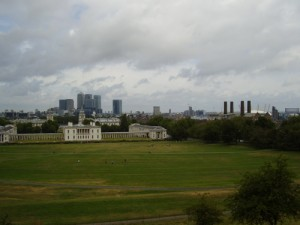 National Maritime Museum and Millennium Dome