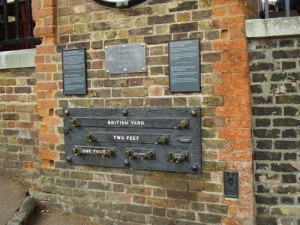 British measurements at the Royal Observatory